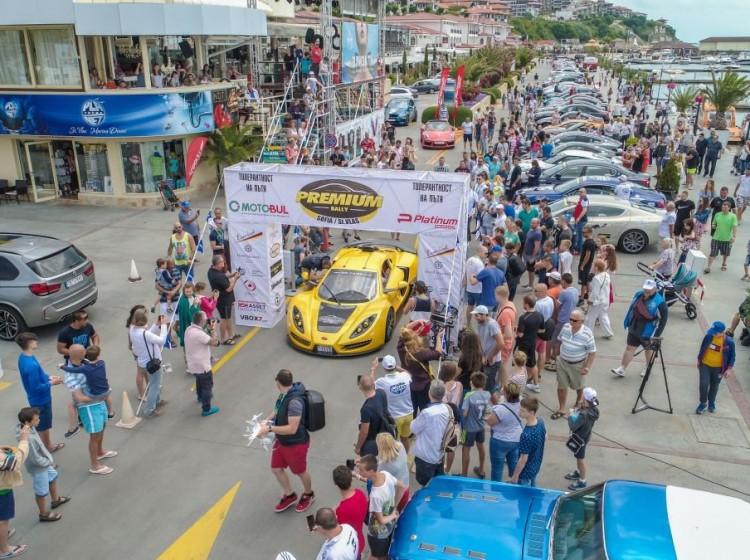Adrenaline, luxury and motor vehicles at the prestigious Premium Rally Sofia - Saint Vlas